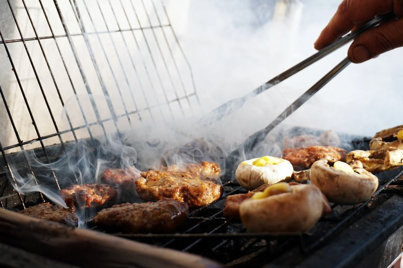 outdoor cooking, grille