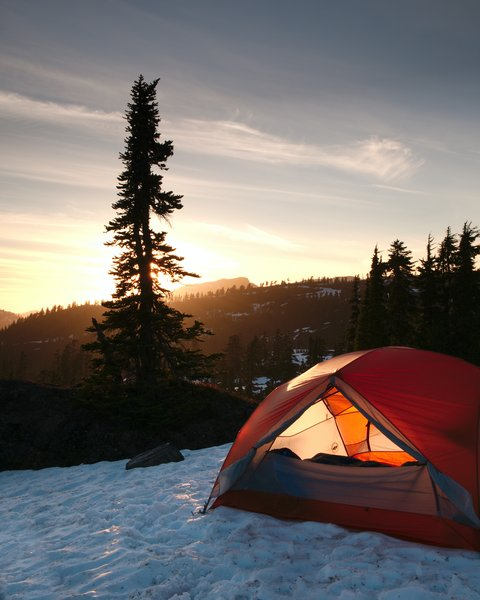 Camping, tent, outdoors,