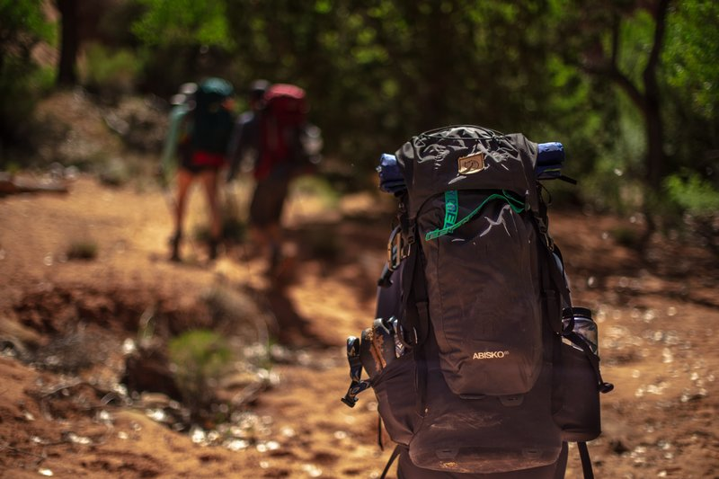 Hiking, hiking backpack,