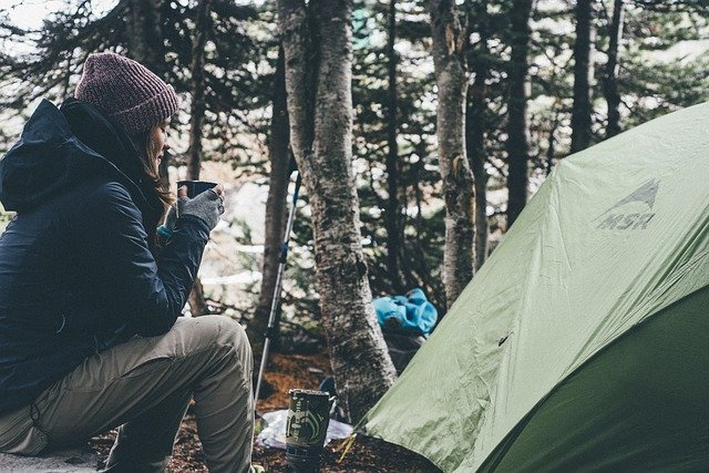 how to insulate your tent for winter camping, winter camping, tent,
