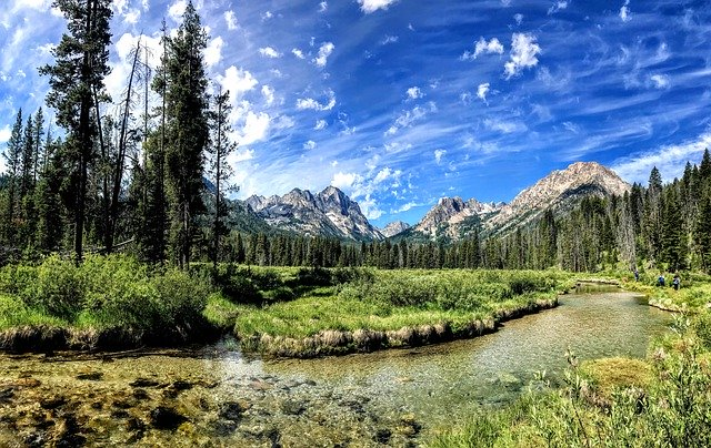 Sawtooth National Forest, astonishing national forests,