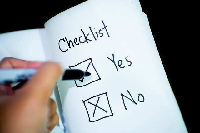 checklist, RV, cleaning your RV,