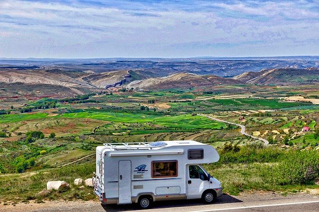 RV, motorhome, cleaning your RV