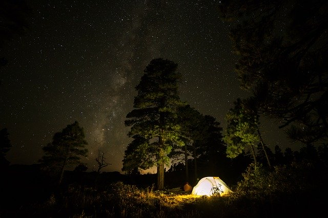 Tent, Dark, Night, camping, outdoors, camp, haunted, scary, Halloween,